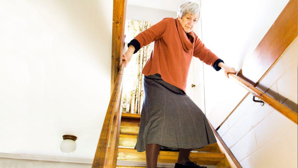 Le cadute negli anziani