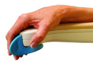 Comandi ergonomici sul bracciolo